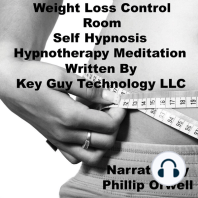 Weight Loss Control Room Self Hypnosis Hypnotherapy Meditation