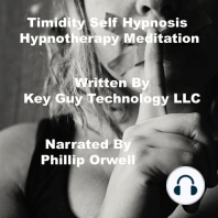 Timidity Self Hypnosis Hypnotherapy Meditation
