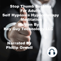 Stop Thumb Sucking For Adults Self Hypnosis Hypnotherapy Meditation