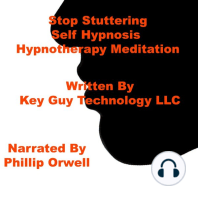 Stop Stuttering Self Hypnosis Hypnotherapy Meditation