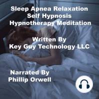 Sleep Apnea Relaxation Self Hypnosis Hypnotherapy Meditation
