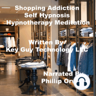 Shopping Addiction Self Hypnosis Hypnotherapy Meditation