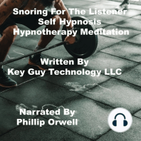 Snoring For The Listener Self Hypnosis Hypnotherapy Meditation
