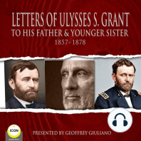 Letter Of Ulysses S. Grant To His Father & Younger Sister 1857-1878