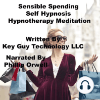 Sensible Spending Self Hypnosis Hypnotherapy Meditation