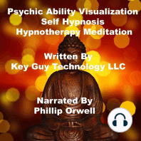 Psychic Ability Visualization Self Hypnosis Hypnotherapy Meditation