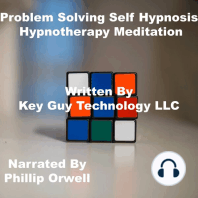 Problem Solving Self Hypnosis Hypnotherapy Meditation