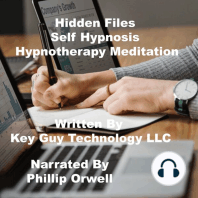 Hidden Files Discover Whats Bothering You Self Hypnosis Hypnotherapy Meditation
