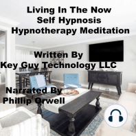 Living In The Now Self Hypnosis Hypnotherapy Meditation