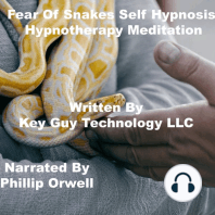 Fear Of Snakes Self Hypnosis Hypnotherapy Meditation