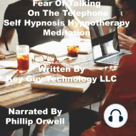 Fear Of Talking On The Telephone Self Hypnosis Hypnotherapy Meditation