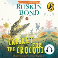 Cricket for the Crocodile