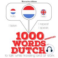 1000 essential words in Dutch