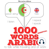 1000 essential words in Arabic