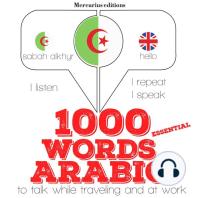 1000 essential words in Arabic