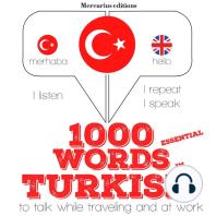 1000 essential words in Turkish