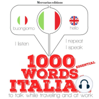 1000 essential words in Italian