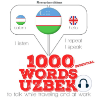 1000 essential words in Uzbek
