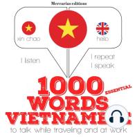 1000 essential words in Vietnamese