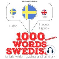 1000 essential words in Swedish
