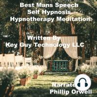 Best Man's Speech Self Hypnosis Hypnotherapy Meditation