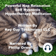 Power Nap Relaxation Self Hypnosis Hypnotherapy Meditation