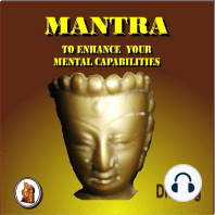 Mantra to Enhance Your Mental Capabilities