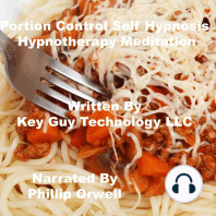 Portion Control Self Hypnosis Hypnotherapy Meditation