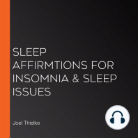Sleep Affirmtions for Insomnia & Sleep Issues