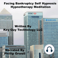 Facing Bankruptcy Self Hypnosis Hypnotherapy Meditation
