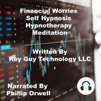 Financial Worries Self Hypnosis Hypnotherapy Meditation