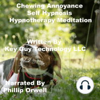 Chewing Annoyance Self Hypnosis Hypnotherapy Meditation