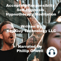 Accepting Responsibility Self Hypnosis Hypnotherapy Meditation
