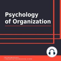 Psychology of Organization