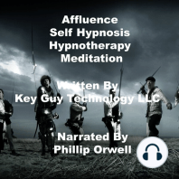 Affluence Self Hypnosis Hypnotherapy Mediation