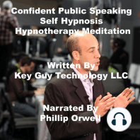 Confident Public Speaking Self Hypnosis Hypnotherapy Meditation