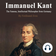 Immanuel Kant: The Famous, Intellectual Philosopher from Germany