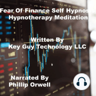 Fear Of Finance Self Hypnosis Hypnotherapy Meditation