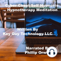 Cyber Cheat Self Hypnosis Hypnotherapy Meditation