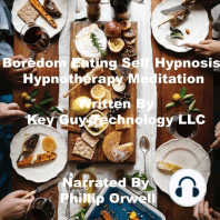 Boredom Eating Self Hypnosis Hypnotherapy Mediation