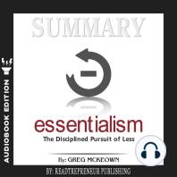 Summary of Essentialism