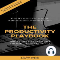 The Productivity Playbook