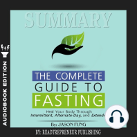 Summary of The Complete Guide to Fasting