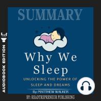 Summary of Why We Sleep