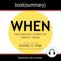 When by Daniel Pink - Book Summary