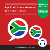 Top 25 Afrikaans Questions You Need to Know