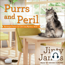 Purrs and Peril: Norwegian Forest Cat Cafe Cozy Mystery Series, Book 1