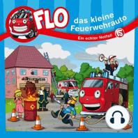 Ein echter Notfall (Flo, das kleine Feuerwehrauto 15)