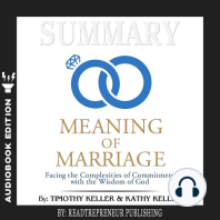 Summary of The Meaning of Marriage
