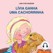 Lívia ganha uma cachorrinha: Lívia e Manu